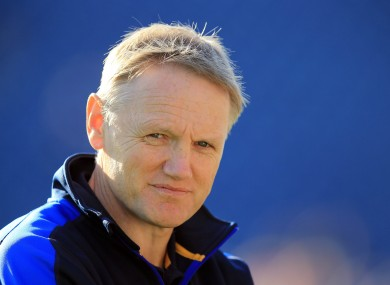 Joe Schmidt will stay at Leinster until the end of the 2013/14 season.