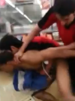 A still from the incident.