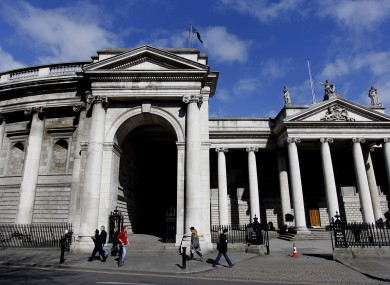 Bank of Ireland's flagship branch on College Green: 24 staff at the bank are on salaries of over €400,000 a year, Michael Noonan has said.