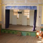 Not everything is worn down - the community theatre is pristine and intact. (Virginia Millington/Flickr)