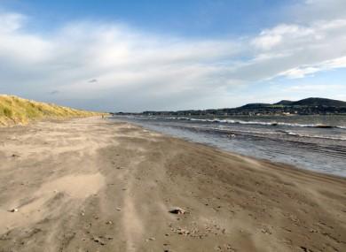 Dollymount beach in Dublin (File photo)