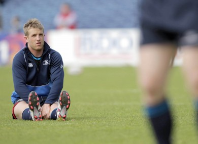 Luke Fitzgerald played 19 times for Leinster last season.