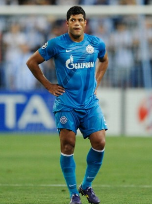 Hulk: plays for Russian side Zenit.