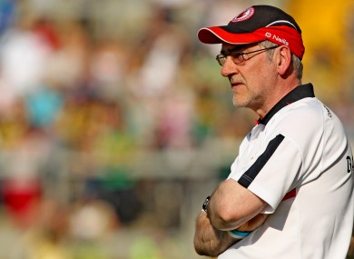 Harte is understood to have dropped several high-profile players.