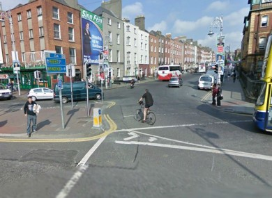 Parnell Square West, seen from Parnell Street (File photo)