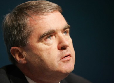 Former minister Frank Fahey has received an apology and a six-figure sum in damages