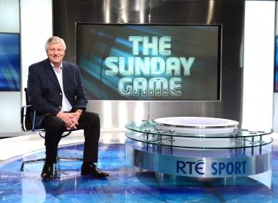 Michael Lyster: Sunday Game presenter.