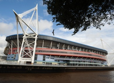 File photo of the Millennium Stadium.