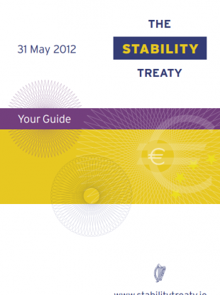 The Referendum Commission has criticised the Government's decision to issue an information booklet (pictured) which confused people about its origin.