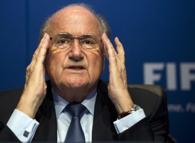 Sepp Blatter was criticised for his initial reluctance to introduce goal-line technology.