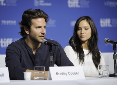 We could have chosen a better pic of Cooper by himself but this one also features Jennifer Lawrence.