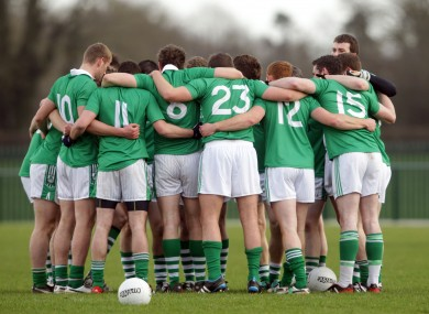 The Limerick footballers were successful this afternoon.
