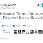 Twitter/@GerryAdamsSF