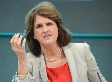 Minister for Social Protection Joan Burton.