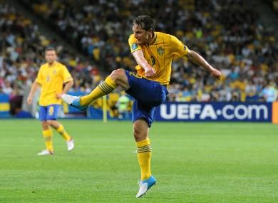 Sweden's Kim Kallstrom possesses a potent left foot.