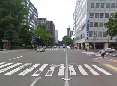 File photo of the centre of Hokkaido in Japan.