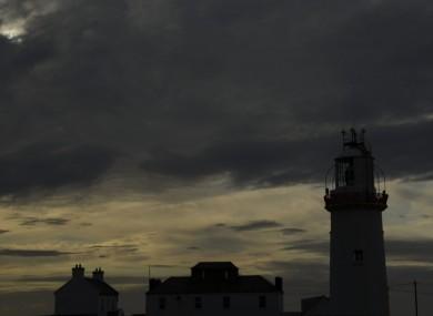 Loop Head Lighthouse looking suitably creepy