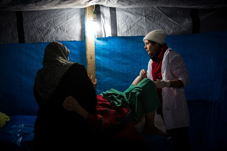 Column: For women giving birth in a war zone, I was more