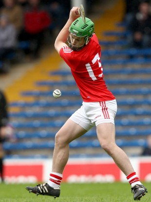 Pa O'Callaghan hit two goals for the Cork minor hurlers tonight.
