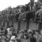 I simply found and find this view of people at Patsy O'Hara's funeral a gripping and amazing sight.
