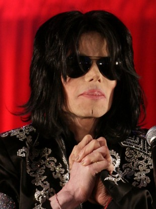 Michael Jackson shortly before his death in 2009.