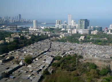 View from the Four Seasons Hotel, Mumbai, India.