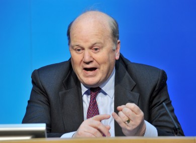 Michael Noonan had been unable to convince all NTMA staff to take voluntary pay reductions - so now NTMA workers will lose their exemptions from across-the-board cuts.