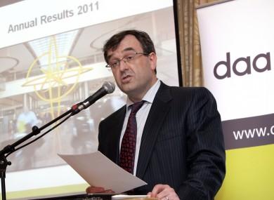 DAA Chairman Pádraig Ó Ríordáin (file photo)