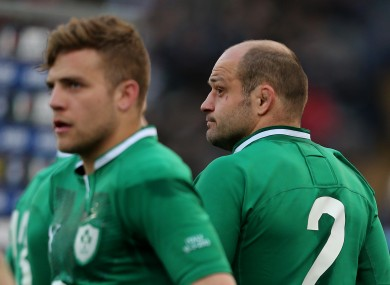 Rory Best will captain Ireland this summer.
