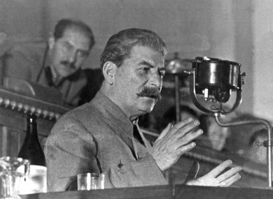 Josef Stalin pictured in 1936