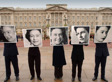 As the Queen gets ready to celebrate her diamond jubilee, here are the five special stamps issued for her 50 year-reign.