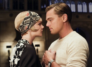 Daisey (Carey Mulligan) and Gatsby (Di Caprio)