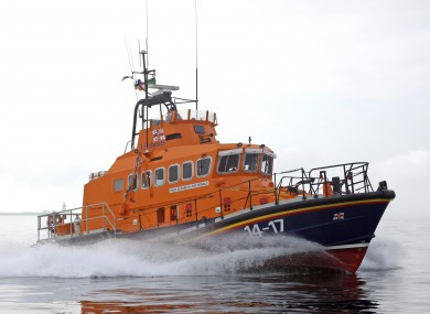 This inshore lifeboat from Dunmore East was involved in recovering the bodies of two of the three Bolger brothers.