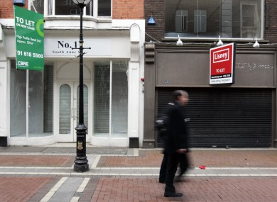 The mushrooming presence of empty retail units has left many councils writing off millions in expected income from commercial rates.