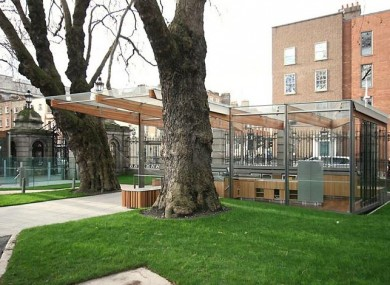 'An Siopa' on the grounds of Leinster House