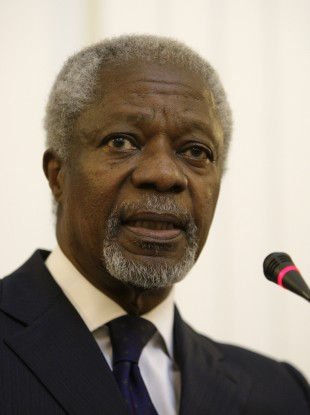 Kofi Annan is one of a number of high-profile names who have spoken at the three previous One Young World summits.