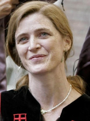 Samantha Power, pictured here in 2008, will become the United States' new ambassador to the United Nations next month.