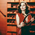When Videodrome portrayed the kinky sex life of Nikkie Brand (Debbie Harry) in 1983, it was shocking. Today, BDSM is a pop culture staple. (Image: Canadian Film Development Corp./Universal)