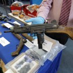 Semi-automatic weapon seized by Gardaí.<span class=