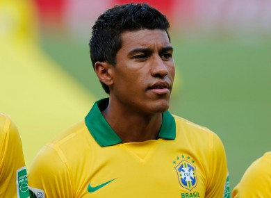 Paulinho has signed for Tottenham for an undisclosed fee.