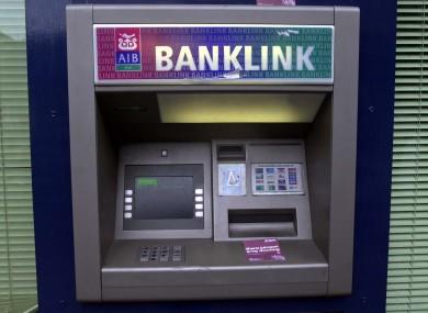 An AIB ATM