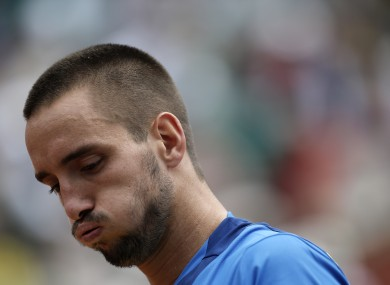 Viktor Troicki has 18 months to brood over his actions.