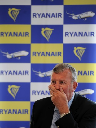 Michael Cawley speaking about Ryanair's results in January this year