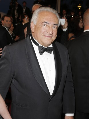 Dominique Strauss-Kahn pictured at he 66th Cannes Film Festival in May this year.