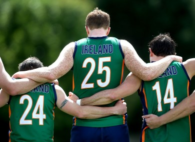 Brian O'Carroll of Irish Warriors on Saturday.