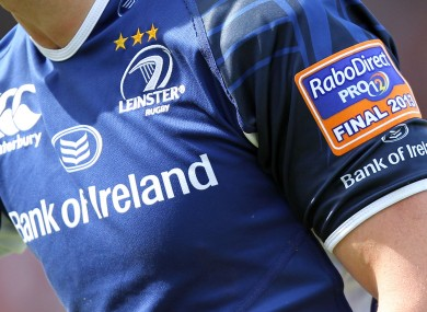 RaboDirect: the 2013/2014 season will be their last as title sponsors of the Pro12.