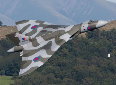 A RAF Vulcan bomber jet will take part in the flyover