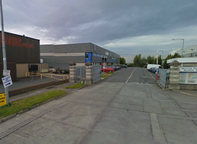 File photo of the Ballymount Industrial Estate