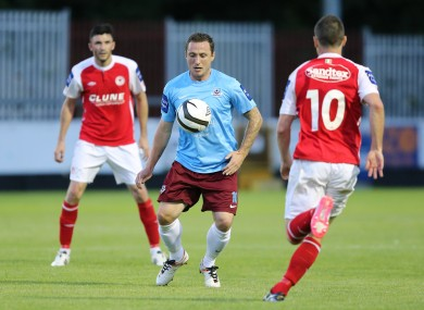 Drogheda's Gary O'Neill was recently diagnosed with testicular cancer.