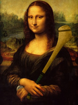 No pictures of the fake tickets were available, so here's a fake Mona Lisa